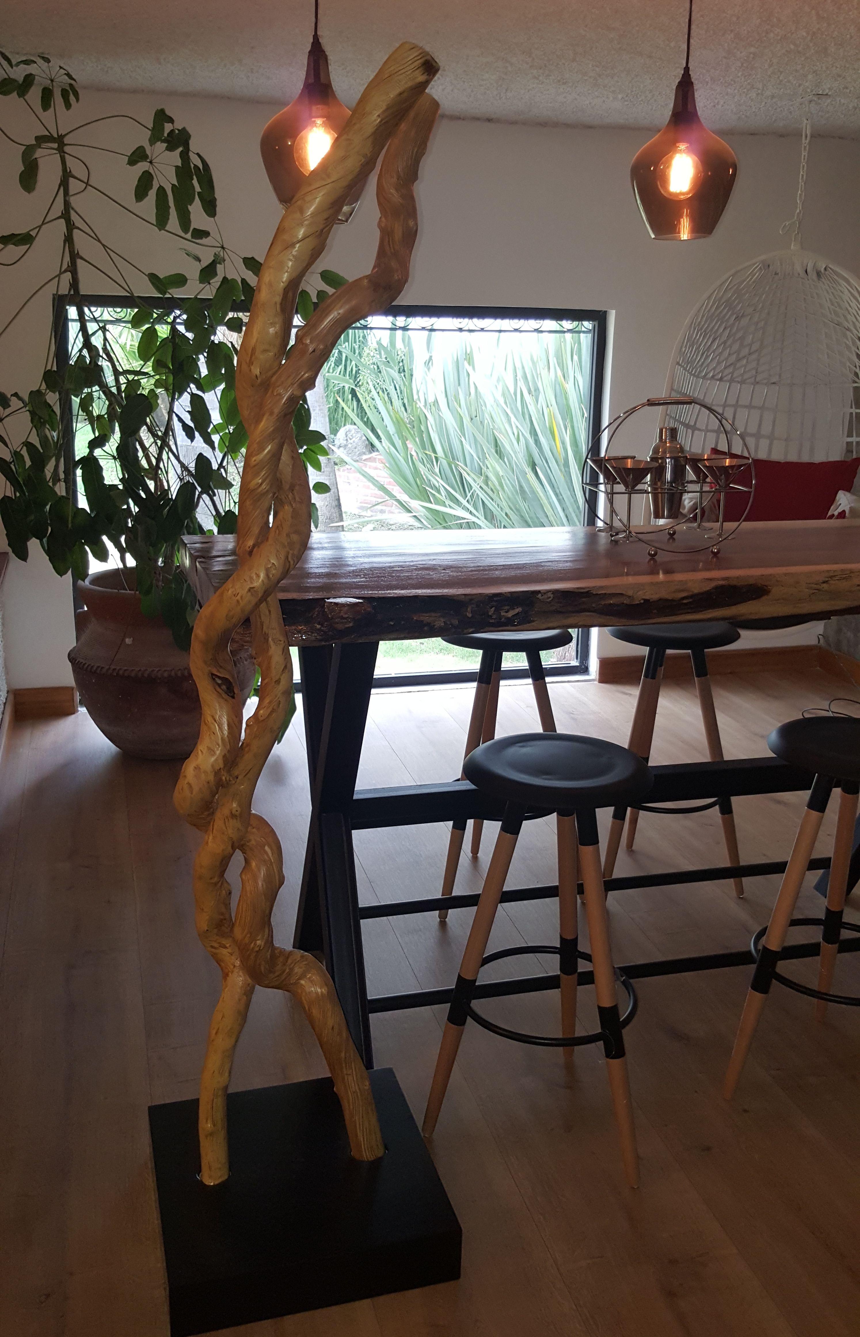Decoraci N Base Con Ramas De Bejuco De La Sierra De Jalisco  # Jalisco Muebles