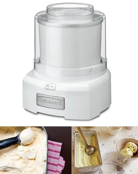 Utensílio de verão: máquina de fazer sorvete
