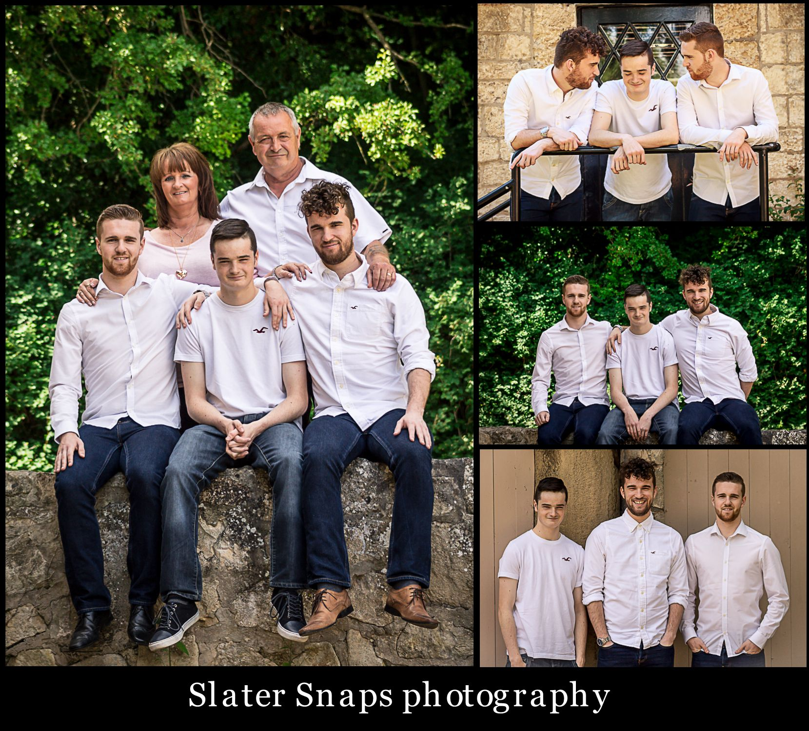 Wedding Poses With Parents: Adult Siblings