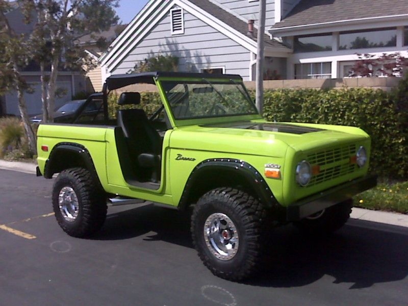 Ford : Bronco 2-door in Ford