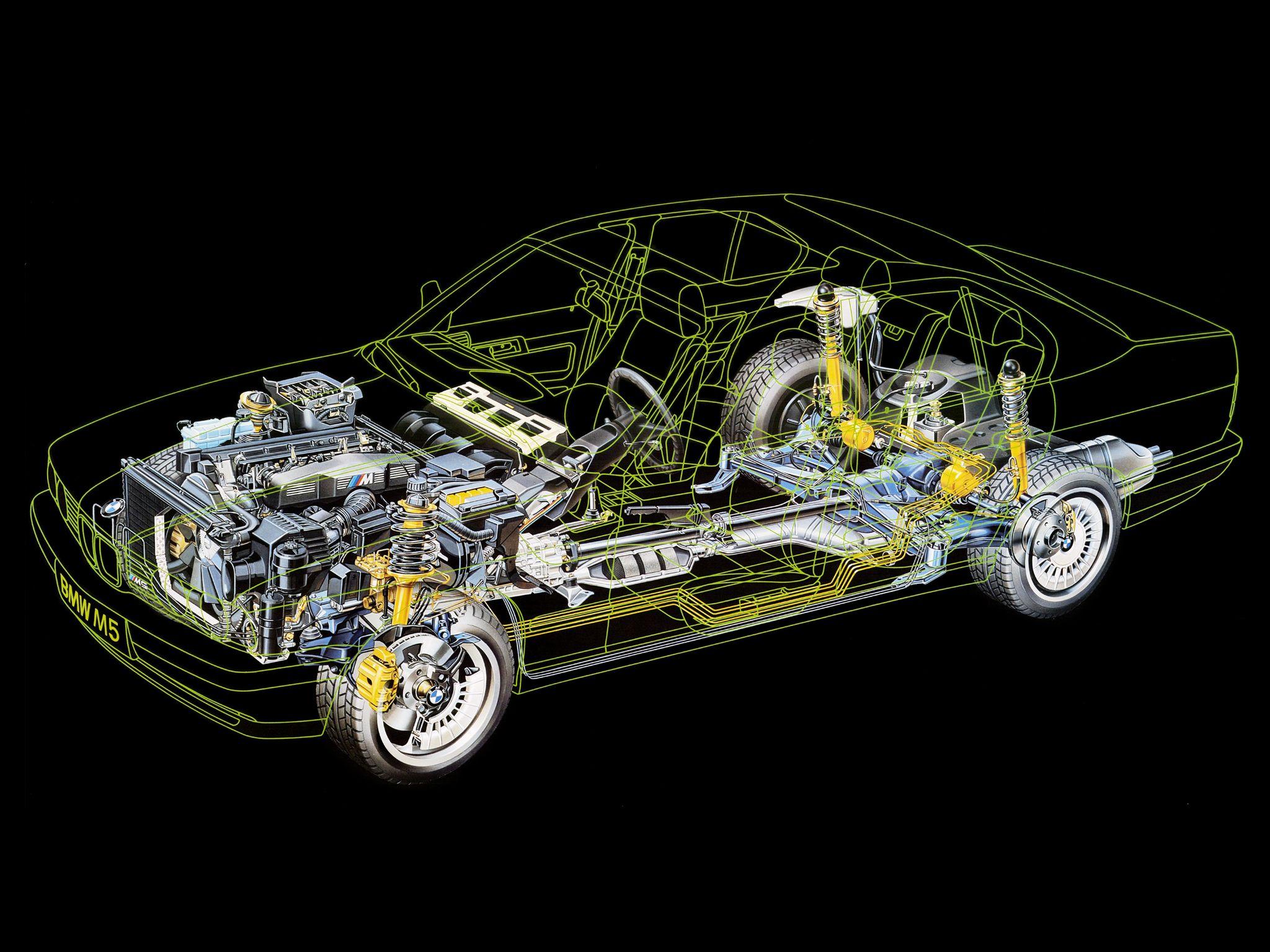 BMW E34 M5   Cars & Bikes   Pinterest