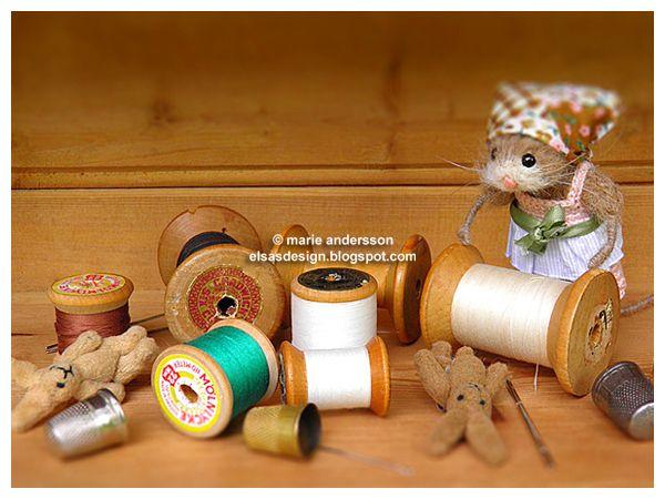 Fröken Elsas virkblogg: these mice are soooooooo cute:)