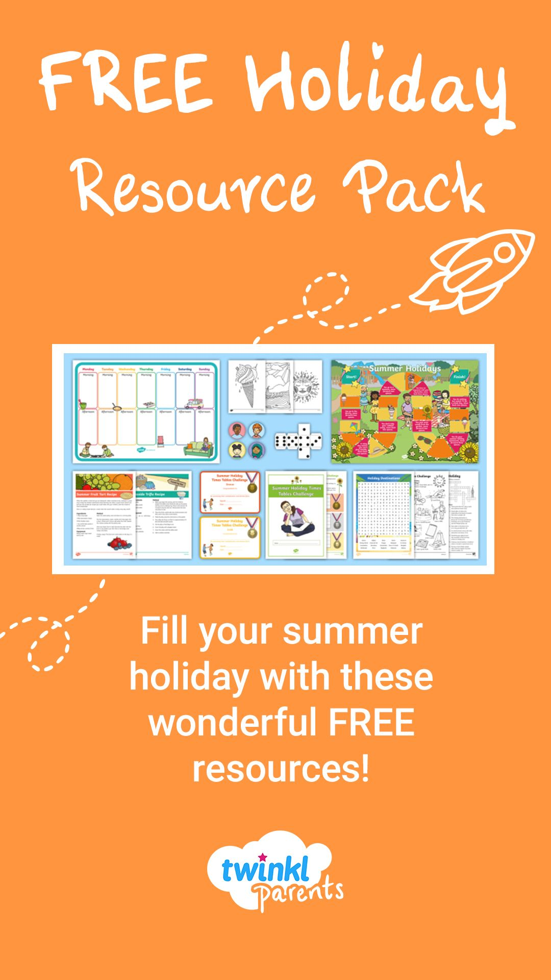 Fill Your Child S Summer Holiday With This Pack Of Fun