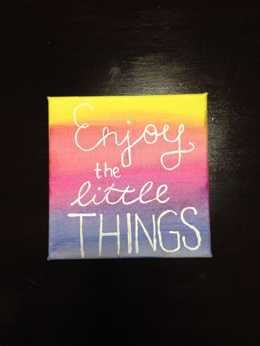 This is a painting that I have painted myself. I am selling it for $6.   I am able to do customised quotes and different sized canvases too. You can message me on Pinterest if interested.