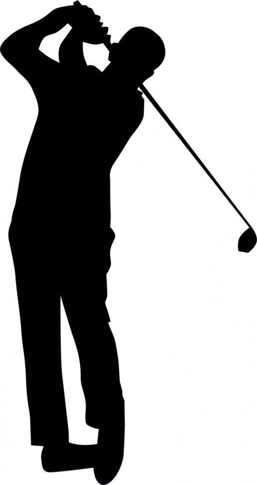 Golfing Silhouette 16 Custom Wall Decals Wall Decal Art And