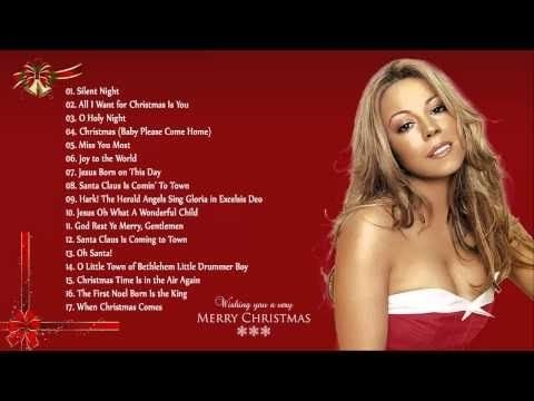 Best Christmas Songs By Mariah Carey Michael Buble Celine Dion Top C Musica Navidena Villancico Musica