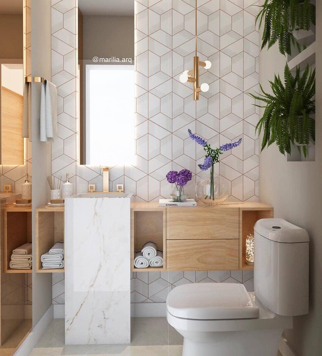 Lavabo Pequeno Medidas Ideais E 60 Projetos E Ideias Bathroom