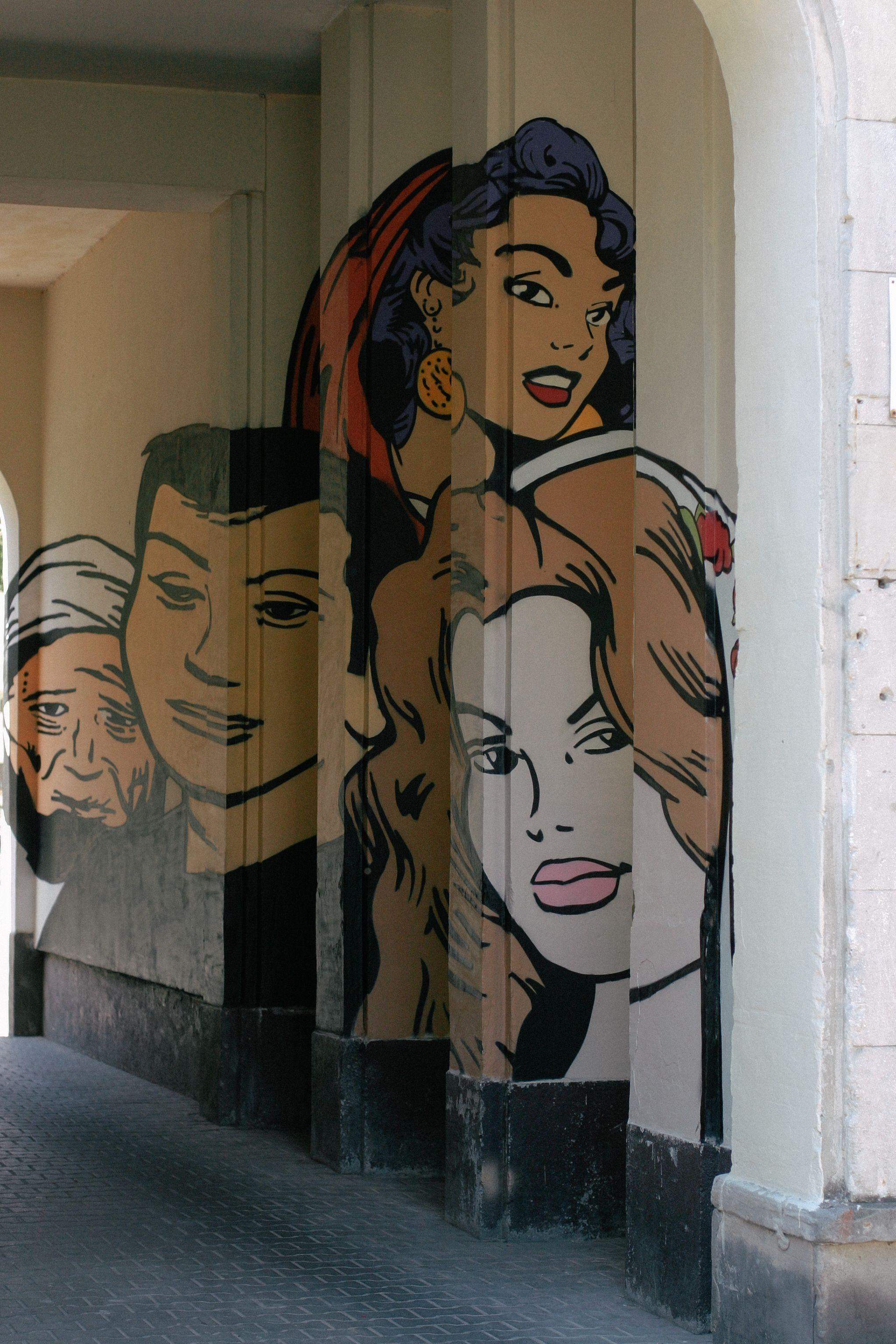 mural muranów Szukaj w Google Art, Street art, Mural
