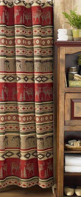 Attrayant Adirondack Home Decor | Rustic Decor | Adirondack Shower Curtains