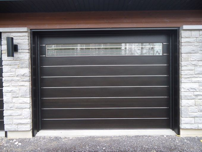 Wonderful Modern Garage Door | Modern Zen Contemporary Style Wood Garage Door 237