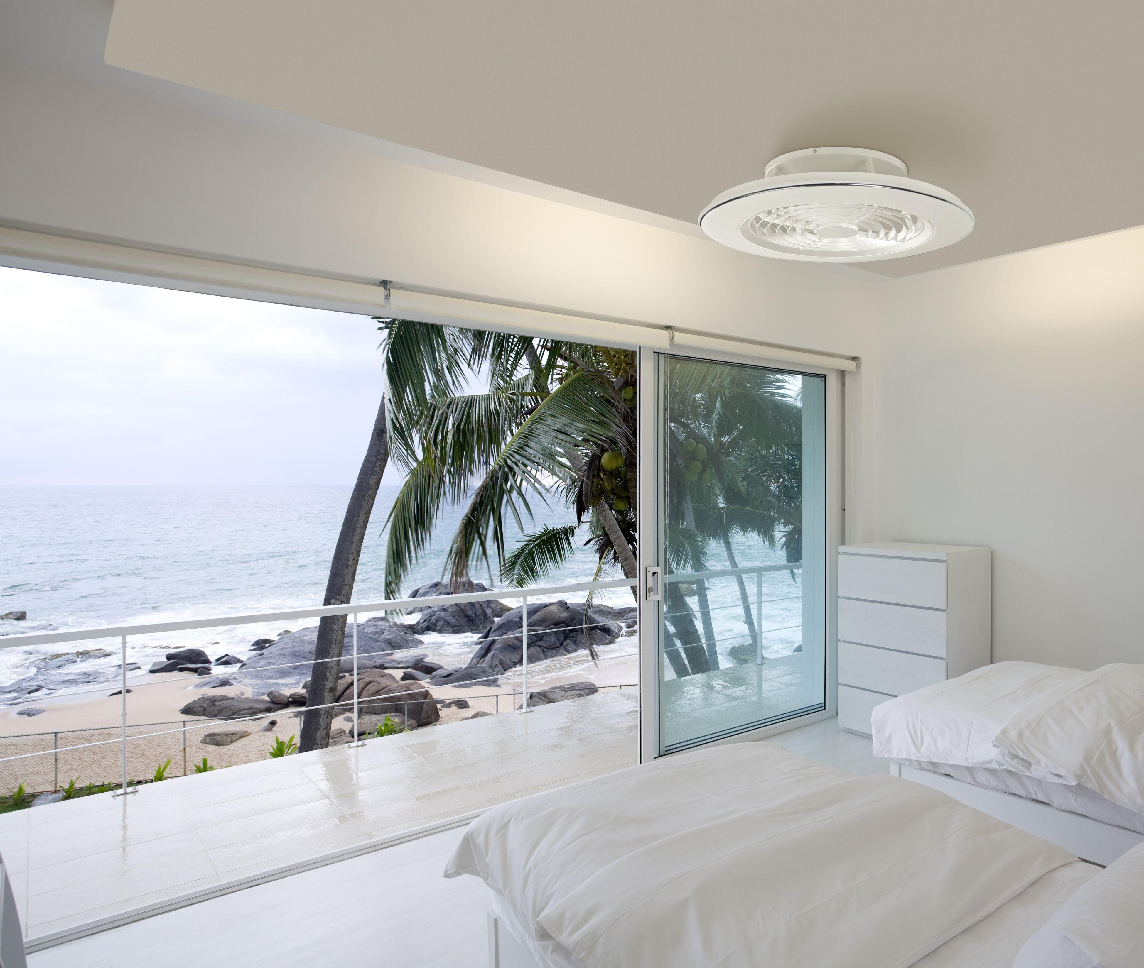 Ventilador de techo ALISIO blanco