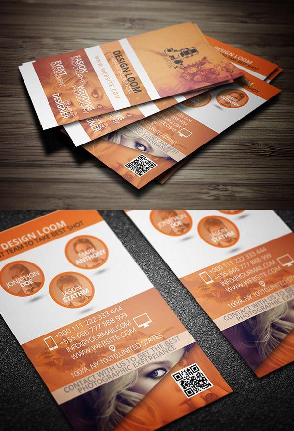 print ready photogrpahy business card template free freebies