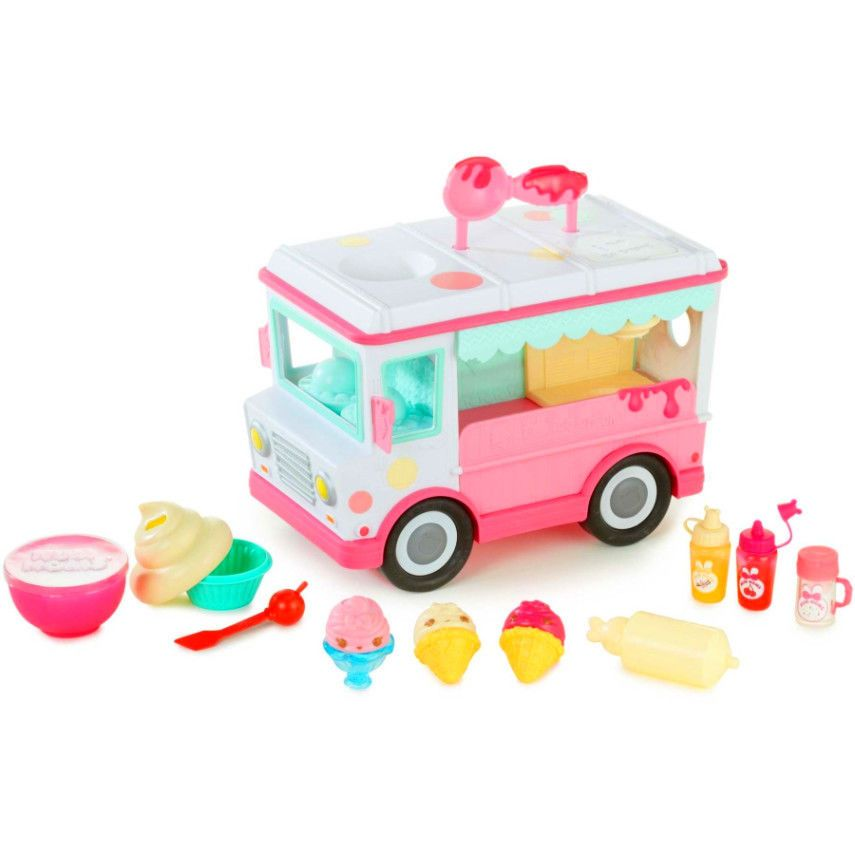 Lipgloss Truck Craft Kit Pretend Play Ice Cream Machine Toy Features