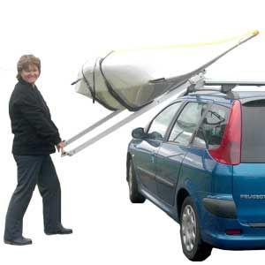 Kari Tek S Easy Load Roof Rack Suits Both Kayaks Canoes