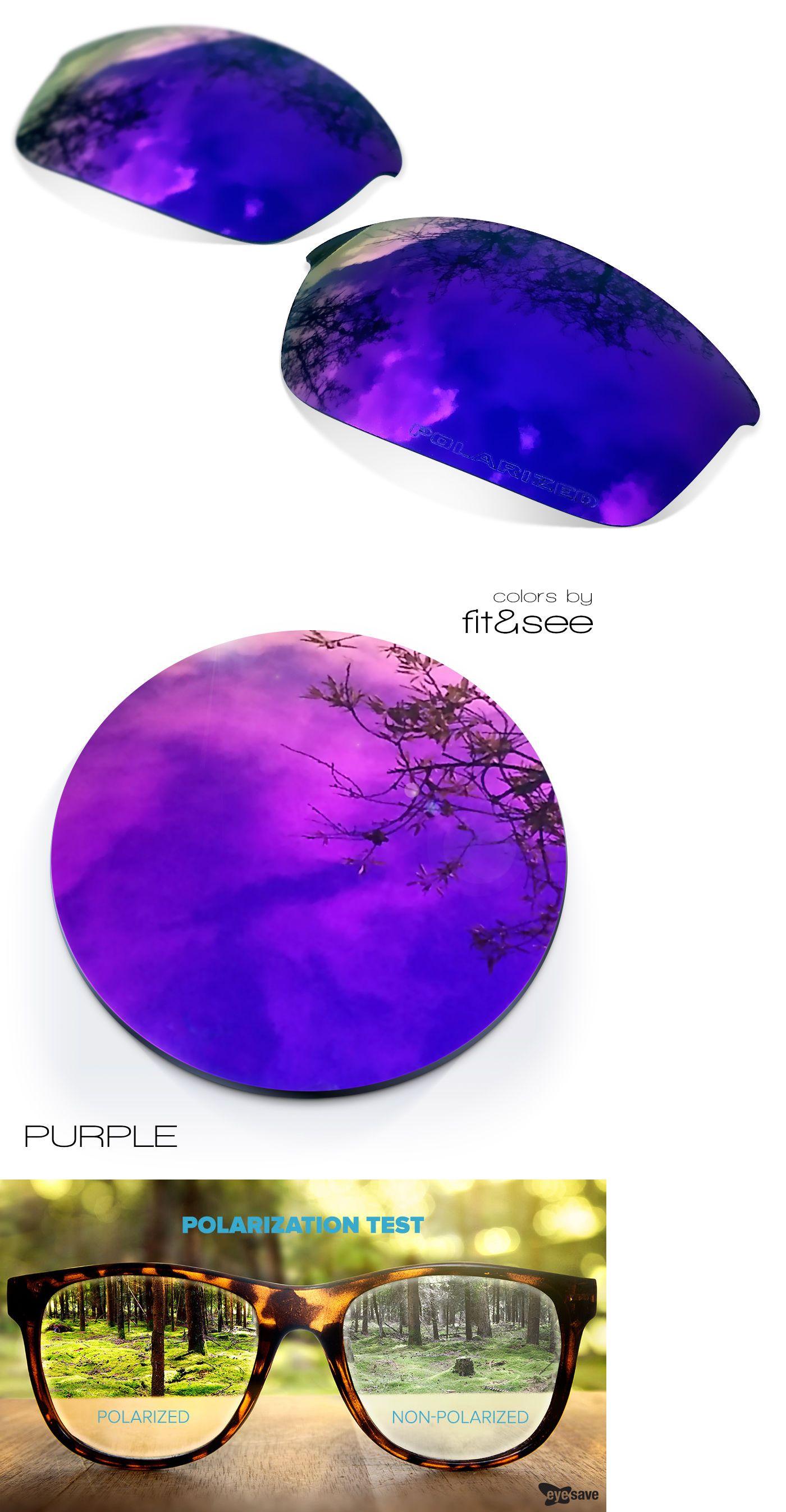 a0264ba976b Replacement Lenses 30368  Sure Polarized Purple Replacement Lenses For Oakley  Half Jacket 2.0 -