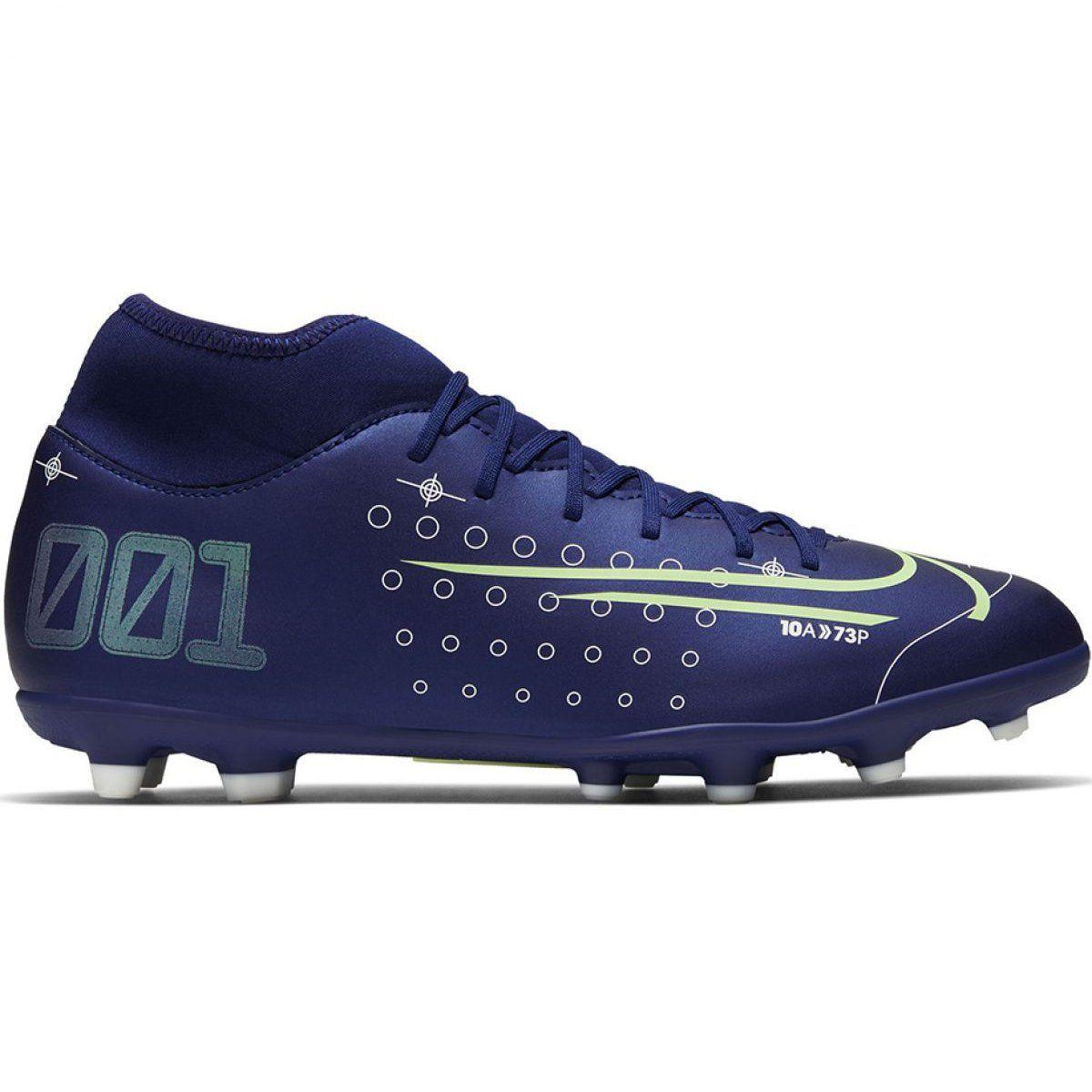 Buty Pilkarskie Nike Mercurial Superfly 7 Club Mds Fg Mg M Bq5463 401 Granatowe Niebieskie Nike Football Boots Football Boots Nike Soccer Shoes
