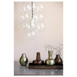 bubble cluster hanging light lifestyle2
