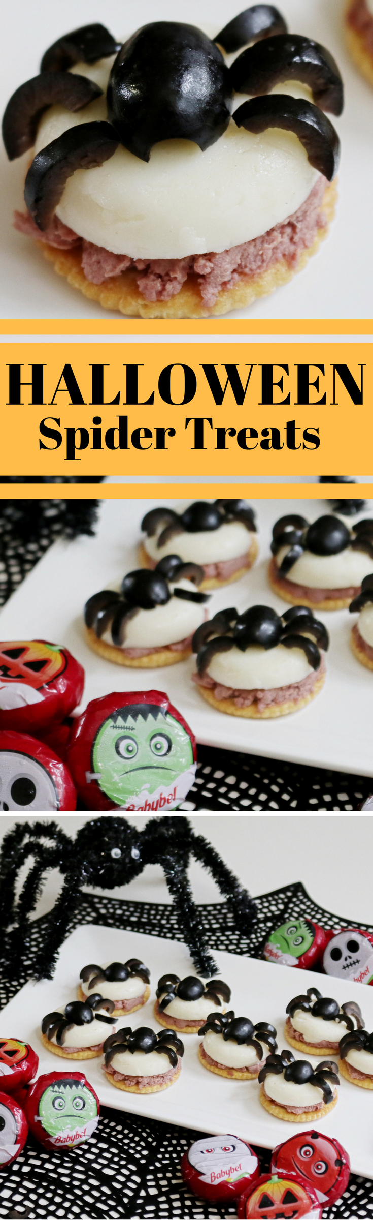 Halloweenpartyideasspidertreatsfood awesome pins pinterest