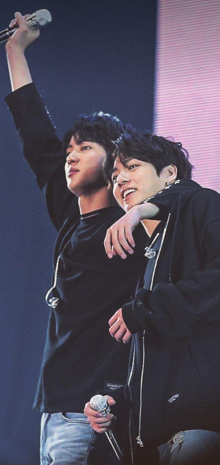 Pin on BTS - JINKOOK (JK + Jin, Father + Son)