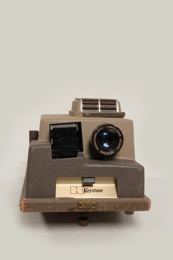 vintage keystone projector