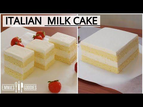 Condensed Milk Cake Recipe Italian Torta Paradiso Youtube In 2020 Cake Recipes Milk Cake Cake
