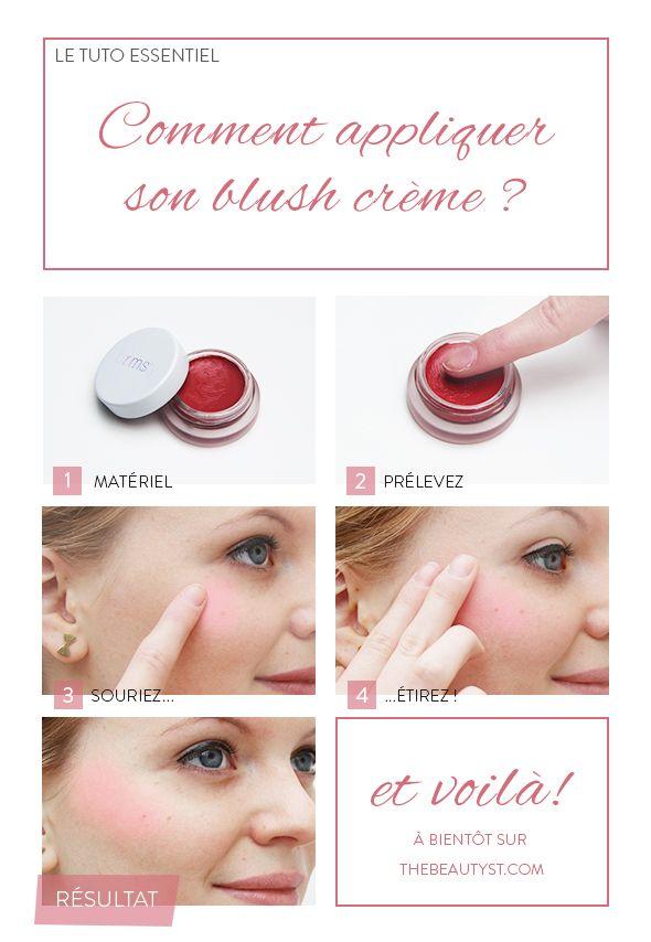 Comment appliquer son blush crème ? C'est notre tuto photo