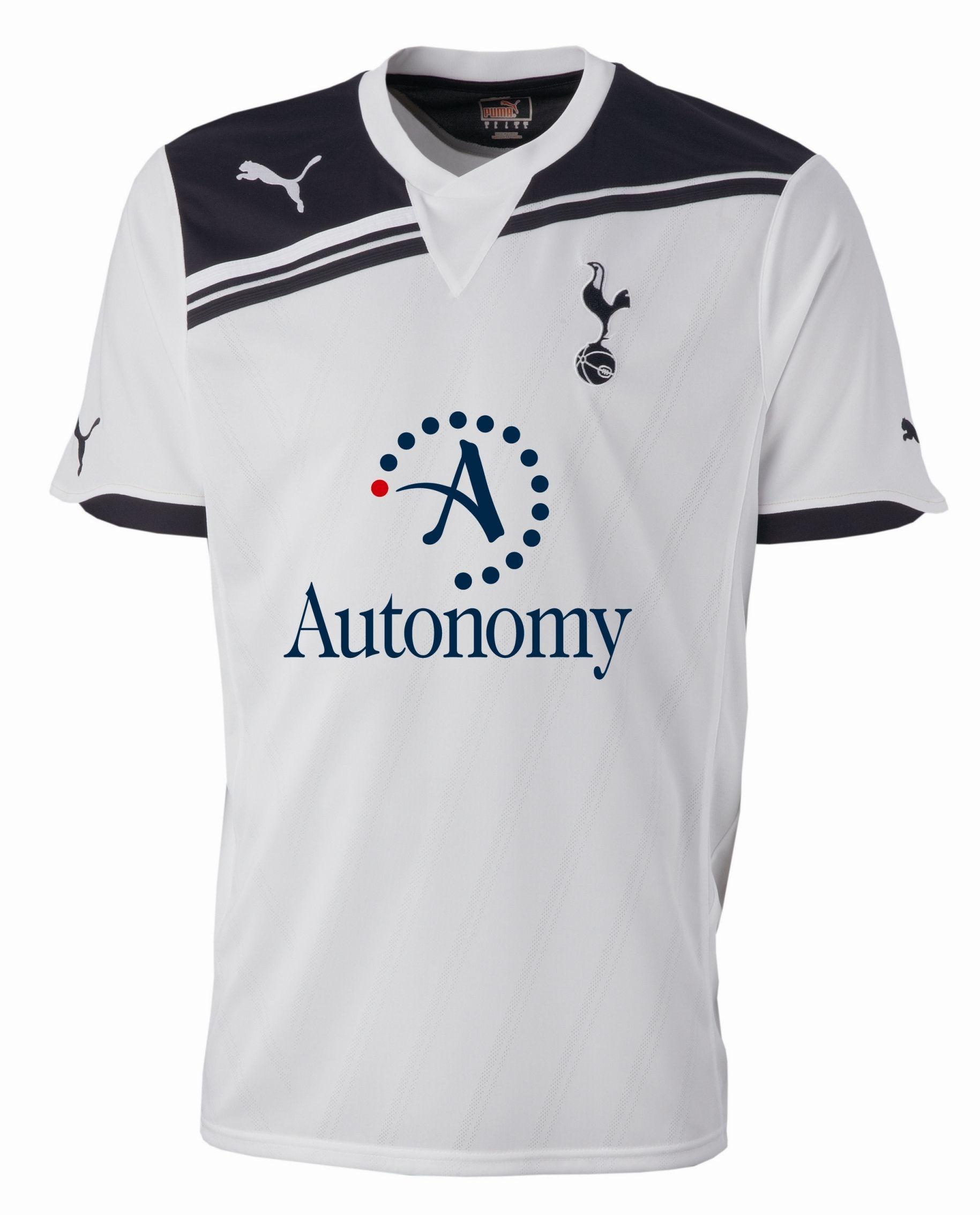 eaf364bca65 Tottenham Hotspur FC (England) - 2010 2011 Puma Home Shirt