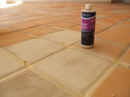 Aqua Mix 39 Piso Blanco 39 Saltillo Stain Projects To Try