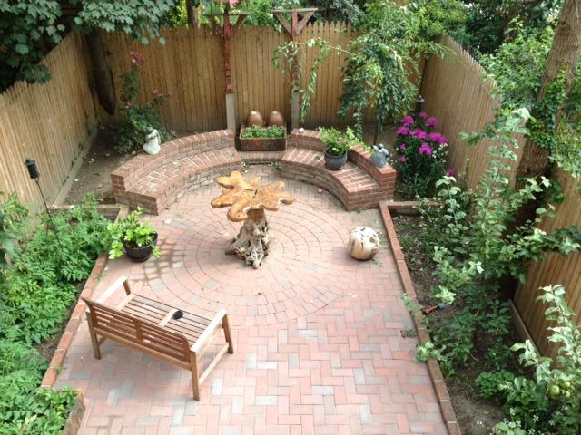 Brooklyn Backyard Brooklyn Backyard Backyard Small Gardens 400 x 300