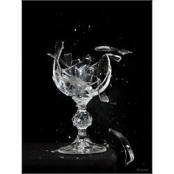 Breaking Point Broken Glass Art Glass Glass Art