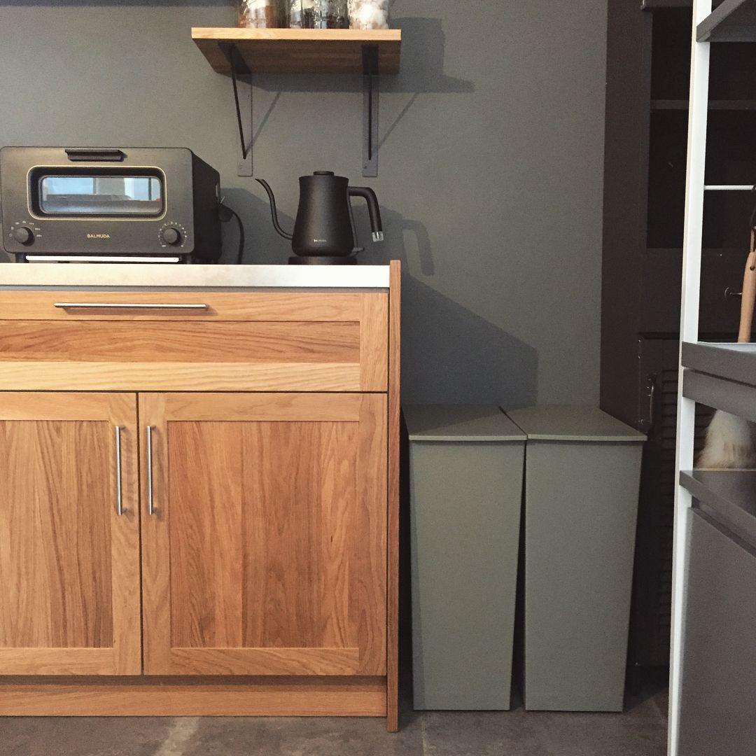 我が家のゴミ箱事情 キッチン編 新居の地域のゴミ分別が細かいの