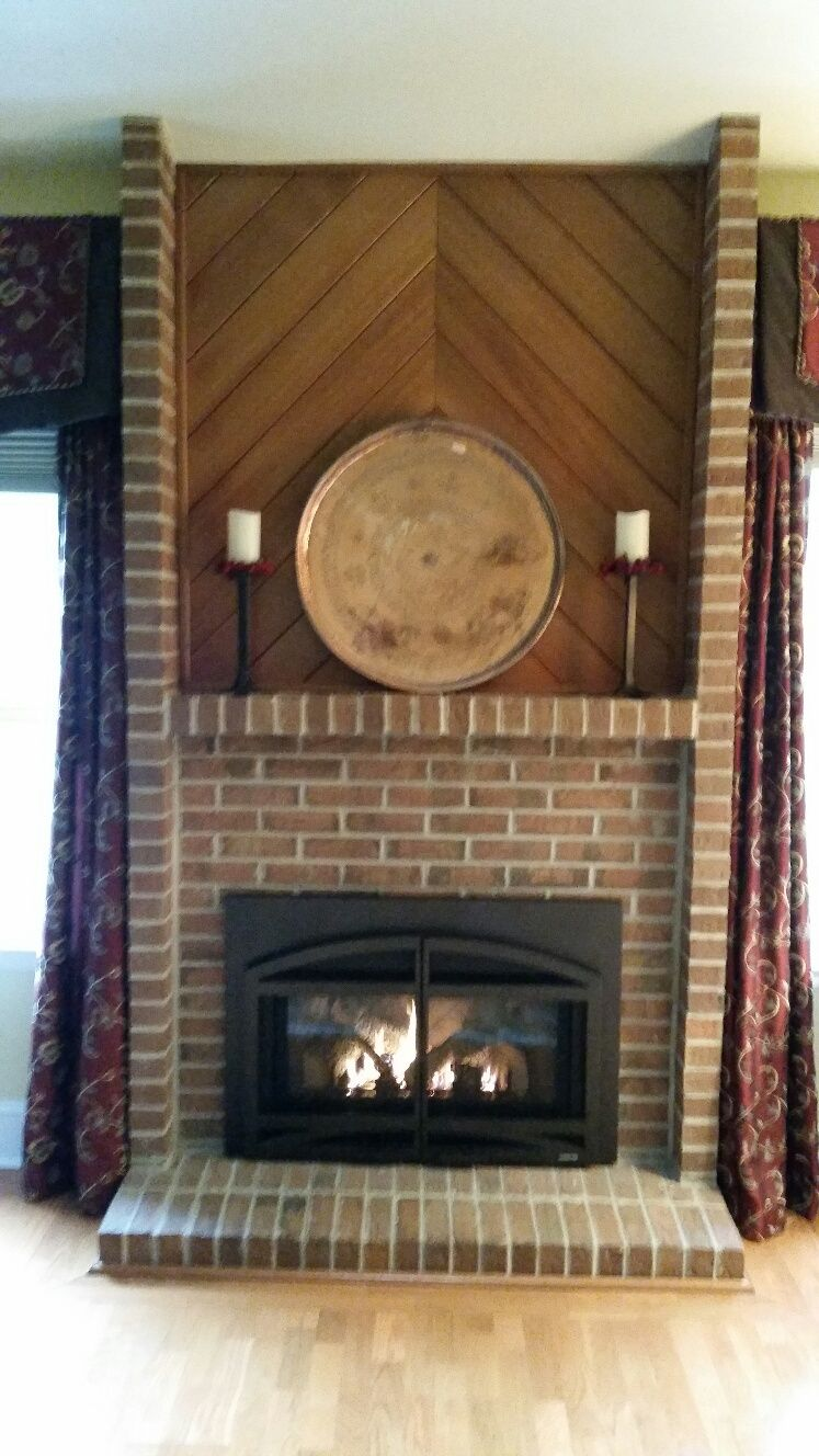 Quadra Fire gas fireplace insert | Recent Installations ...