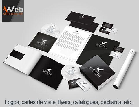 Logos Cartes De Visite Flyers Dpliants Catalogues Enveloppes Papiers Entte Affiches Chemises Rabat Tiquettes Blocs Note Faire Parts