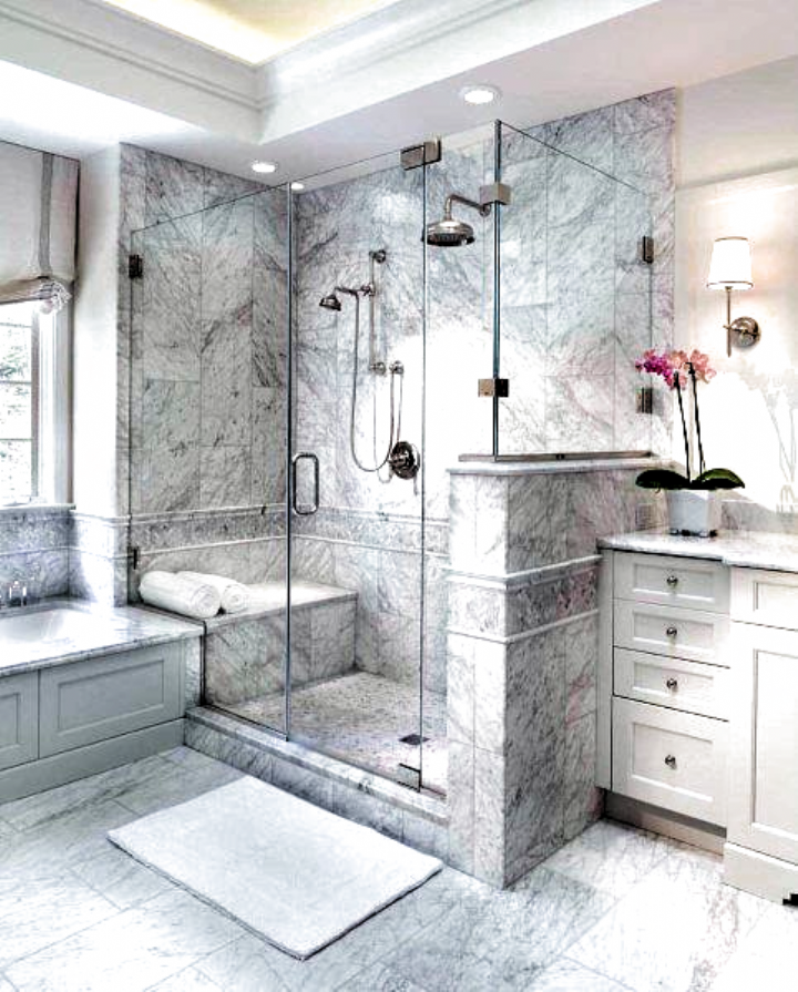 Top Ten Best Bathroom Designs From Our 2018 Home Tours Best Bathroom Designs Master Bathroom Design Main Bathroom Decorating Ideas