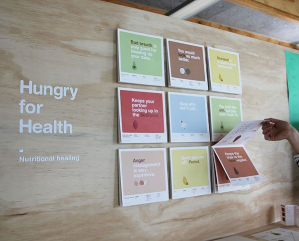 Hungry for Health on Behance