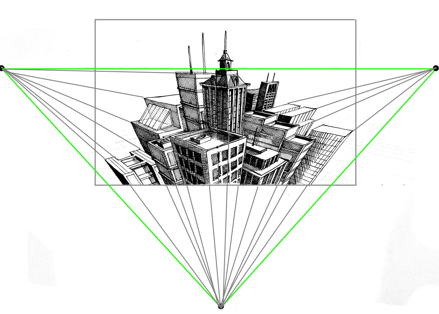 How To Crush 3 Point Perspective For The Ultimate 3 D
