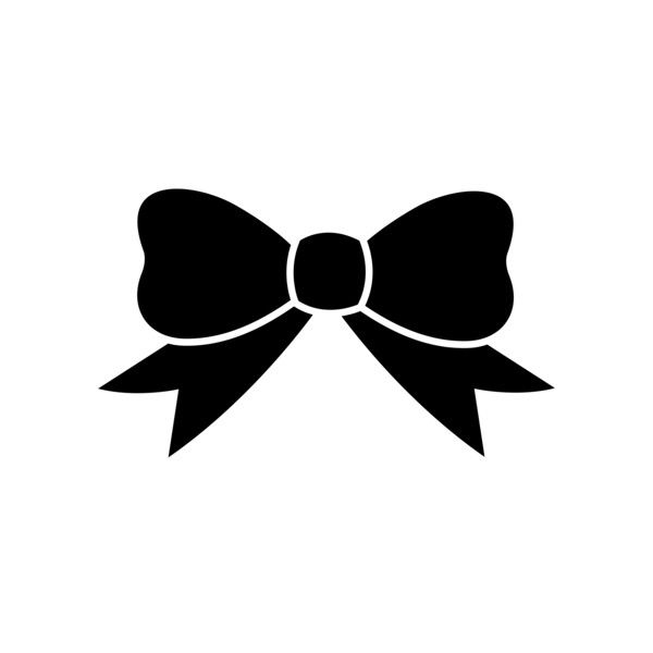 Black Ribbon Silhouette Free Clip Art liked on Polyvore ...
