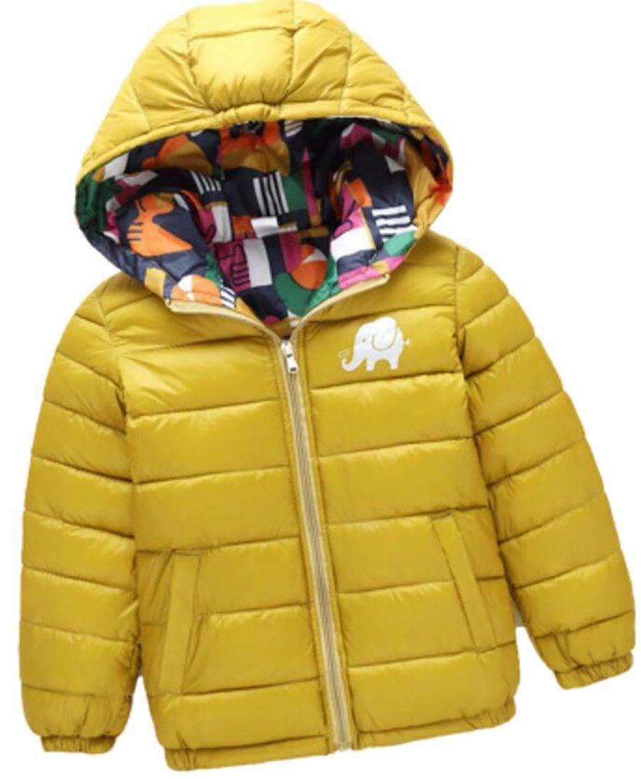 1e5421a9d3ca Jaycargogo Children s Hoodie Lightweight Puffer Duck Down Jacket 1 ...