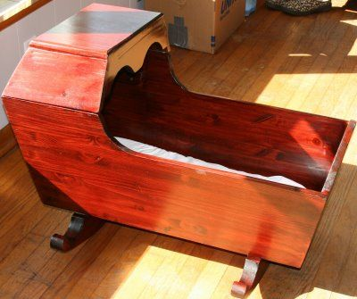 Leedra S Photos For Fun Baby Cradle For Wendy And Lukas Baby Wooden Cradle Baby Cradle Wood Cradle