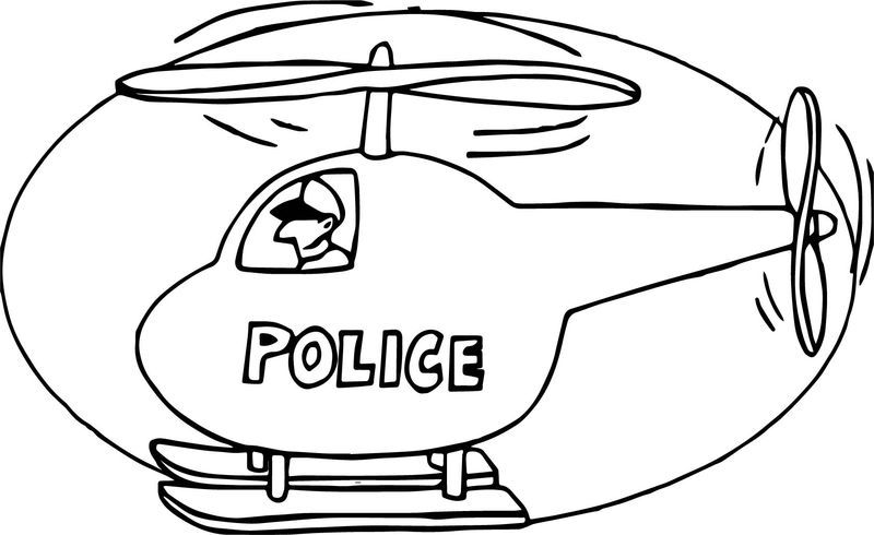 Police Helicopter Coloring Page Coloring Pages For Kids Coloring Pages Christmas Gift Coloring Pages