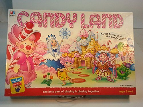 Amazon Com Candyland Be The First To Find The Candy Castle 2001 Toys Games Candyland Board Game Candyland Games Candyland