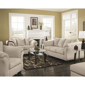 Darcy Sofa in Stone   Nebraska Furniture Mart