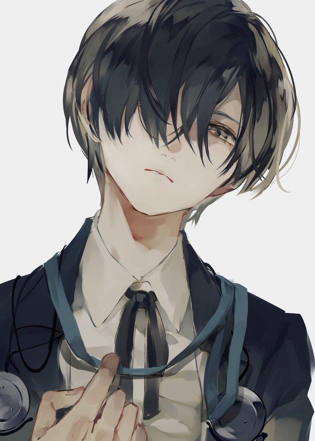 しょくむら on Twitter in 2020 Anime boy sketch, Anime