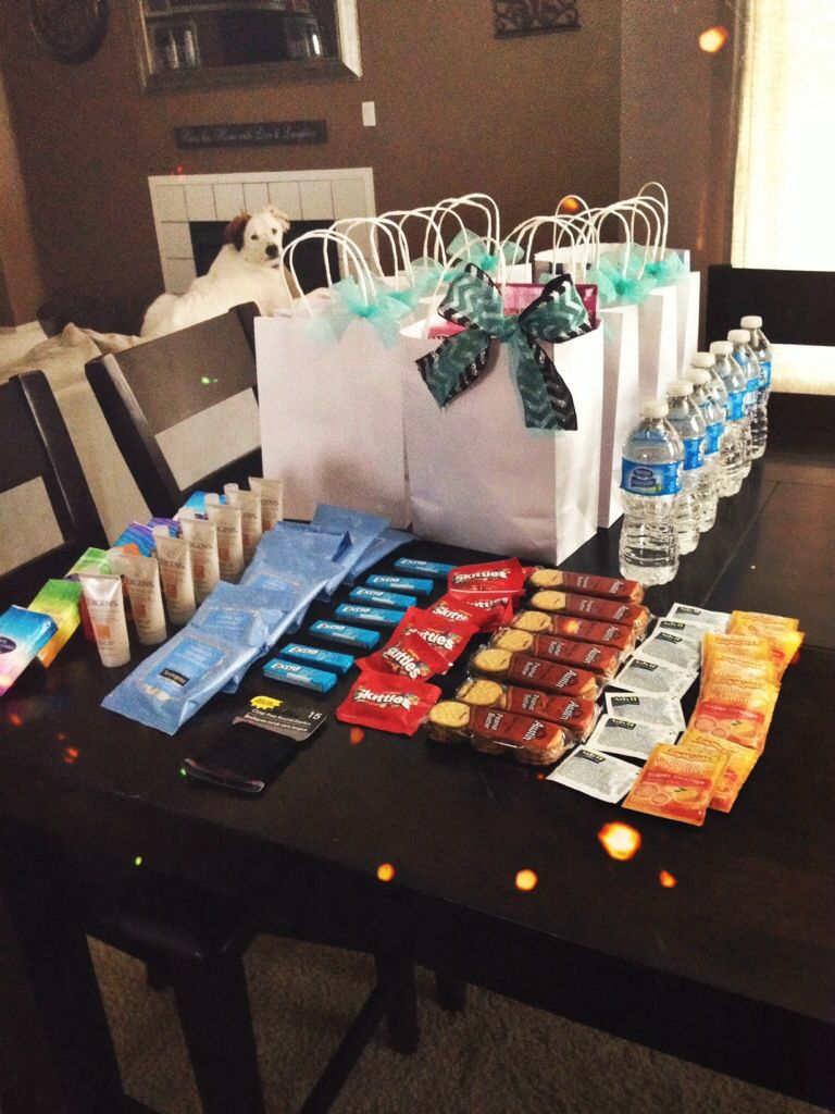 78879c74386f Bachelorette party hangover goodie bags!