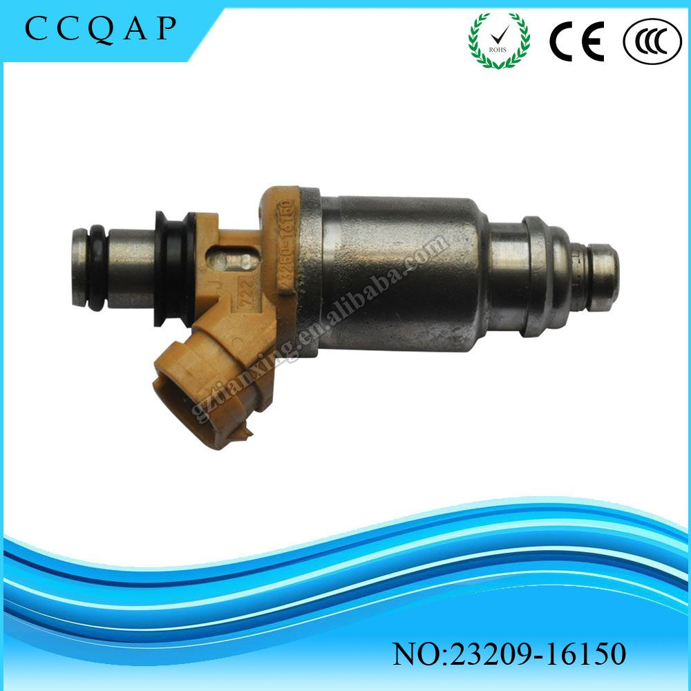Free Shipping 23250 16150 23209 Fuel Injector For Toyota 93 97 Chevy Optra 5 Wiring Diagram Corolla