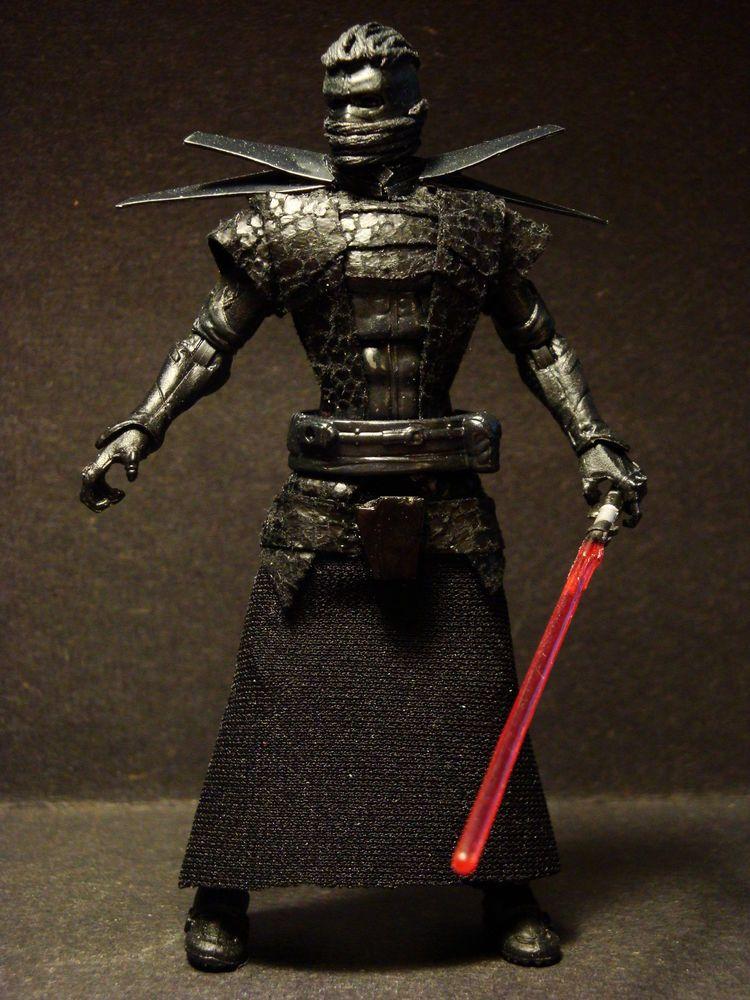 "Star Wars Custom ""Emperor Vitiate"" Sith Lord Vader MALGUS Plagueis"