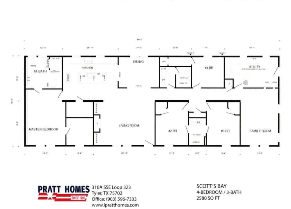 Scott S Bay Modular Homes Pratt Homes Modular Homes Floor Plans Modular Home Floor Plans