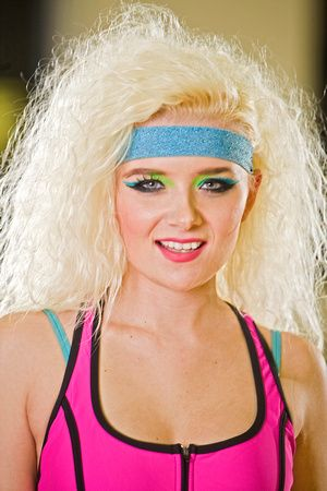 80s Aerobics Makeup Google Search With Images Headband