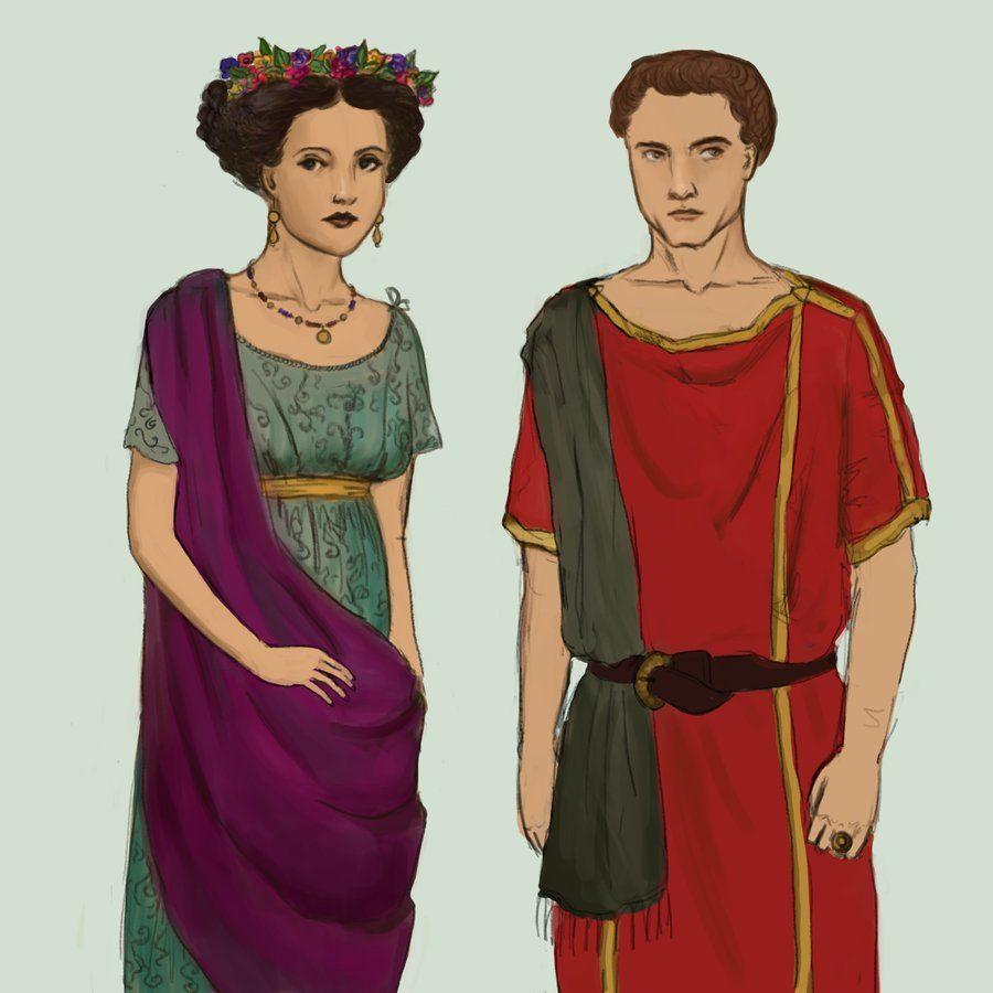 latins clothing Romans greeks