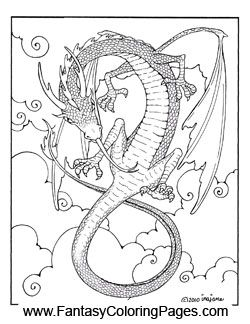 dragon coloring pages  angel coloring pages coloring